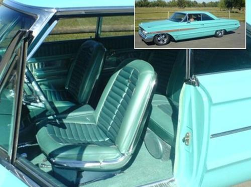 1963 Galaxy interior