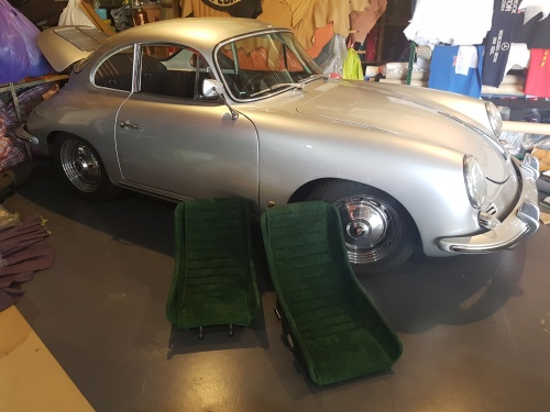 Porsche 906 Grey seats with 356 B