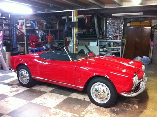 Alfa 750 Tonneau
