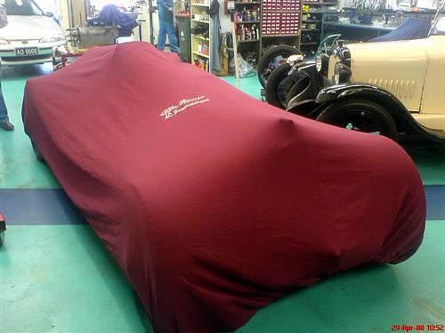 Alfa-Romeo-vintage car cover