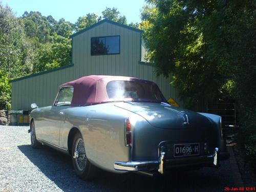 Alvis-roof soft top