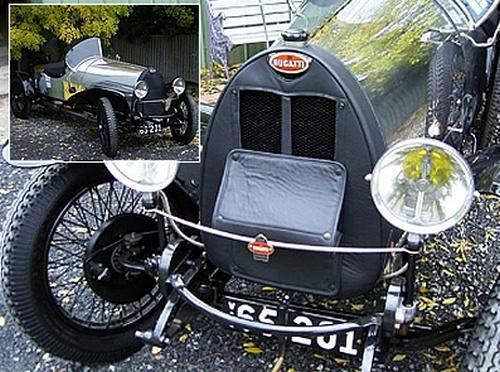 Bugatti Radiator Muff