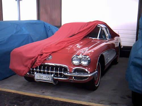 Chevrolet-Corvette car cover