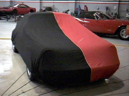 Two tone car cover
