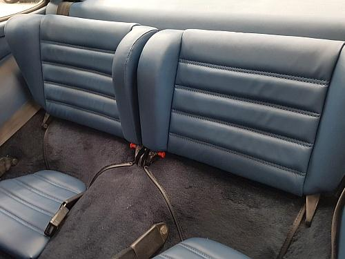 Porsche 930 Blue Leather rear