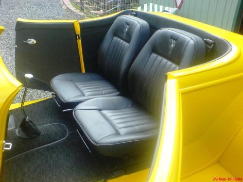 34 Roadster interior